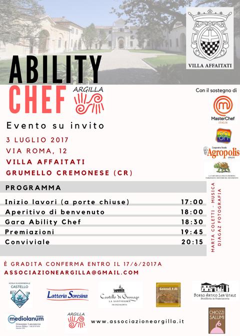 Evento Ability Chef