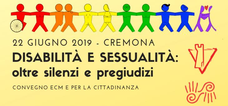 Disabilità e sessualità: oltre silenzi e pregiudizi – Convegno ECM